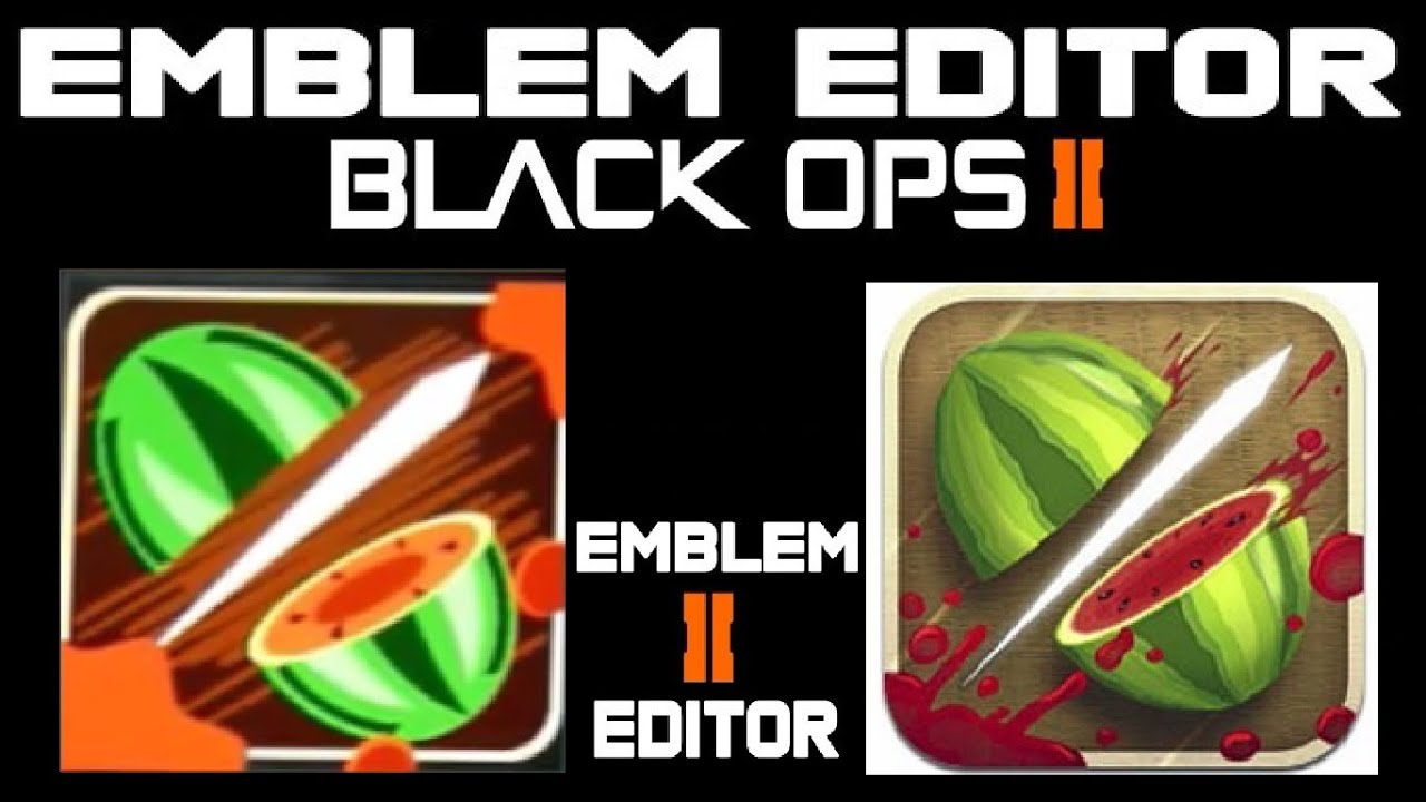 Ninja fruit 2 - Black Ops 2 Emblem Tutorial Ninja Fruit