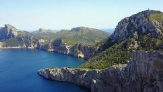 Cap De Formentor with a DJI Mavic Pro Drone, Mallorca, Spain - March 2017