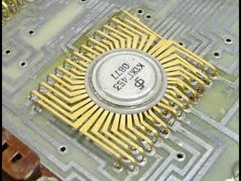 IC(Integrated Circuit) Fabrication.
