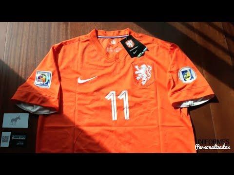 Holanda 14-15 (Playera Local) Copa Mundial.