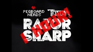 [Glitch Hop / 110BPM] - Pegboard Nerds & Tristam - Razor Sharp (1 hour version)