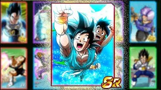 THIS CARD SHOULD BE IN DOKKAN!! BUCCHIGIRI SIMULATED SUMMONS!! Dragon Ball Z Bucchigiri Match