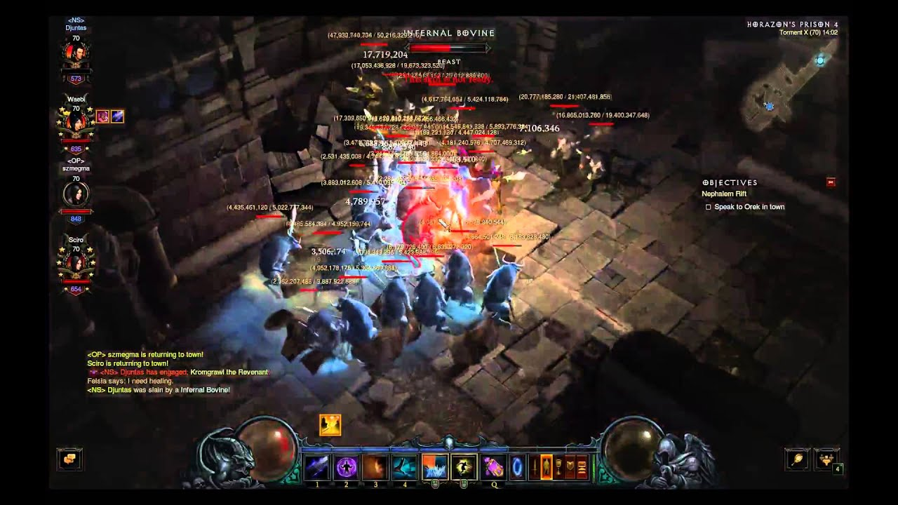 diablo 3 how to get cow level