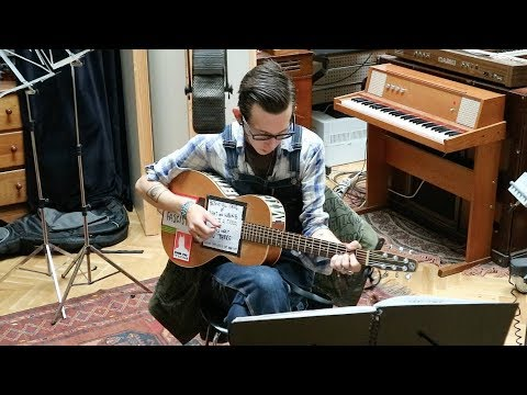 Micah P. Hinson | Live 2017 | 2 Meter Session #1613 | 4 songs acoustic