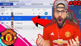OMG HELP! $500 MILLION DEALS! WHAT DO I DO!??! #FIFA19 Manchester United Career Mode #02