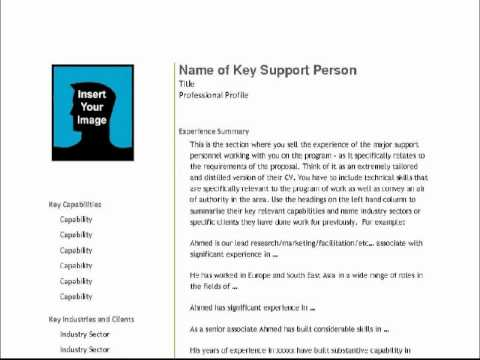 Business Proposal Template for Consulting Program Implementation – Business Consulting Proposal Template