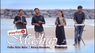 Pudhu Vellai Mazhai Malare Mounama Mashup Playlistone.mp3