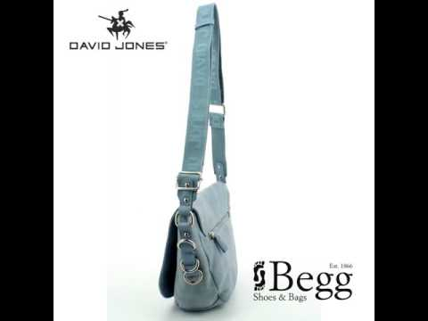 David Jones Fabric 5545-27 Blue handbag