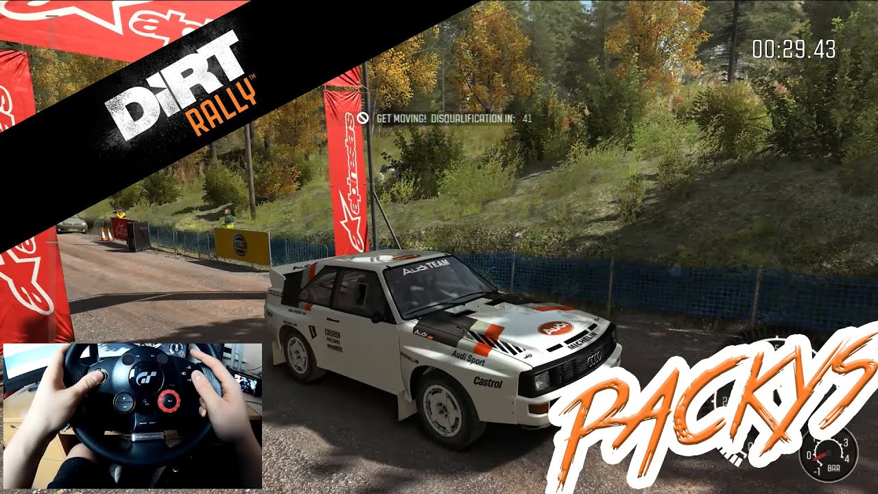 DiRT Rally ▻Logitech Driving Force GT◅ (60fps) by - YouTube