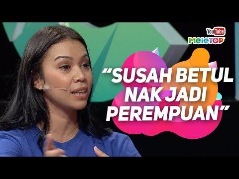 Susah jadi perempuan kata Sharifah Sakinah dalam Selafaz Cinta | MeleTOP | Tya Ariffin & Nabil