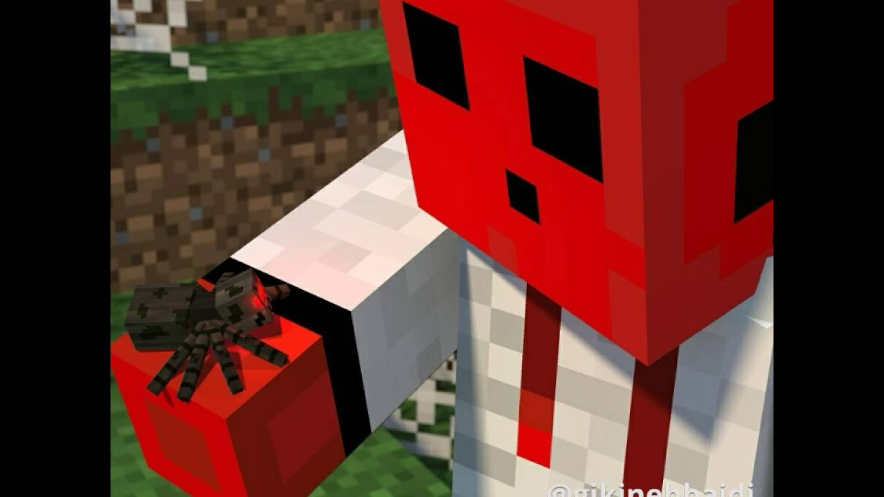 Minecraft Pe Red Slime Skin YouTube - Skins para minecraft pe red