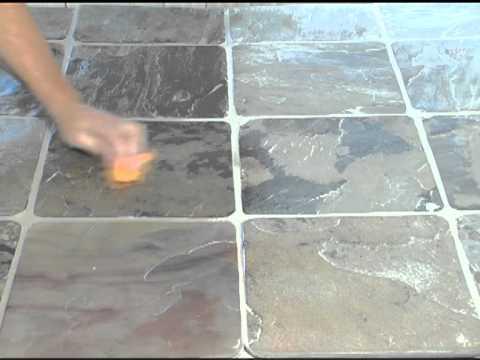 Groutshield Enhancer Seal Demo Youtube