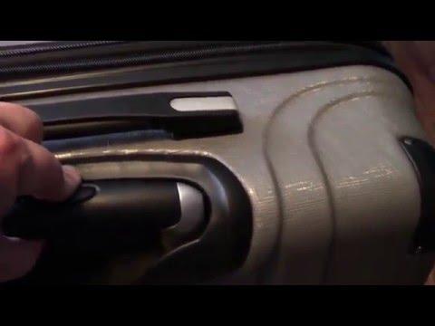 Ricardo Beverly Hills 2-piece Hardside Spinner Luggage Set Unboxing