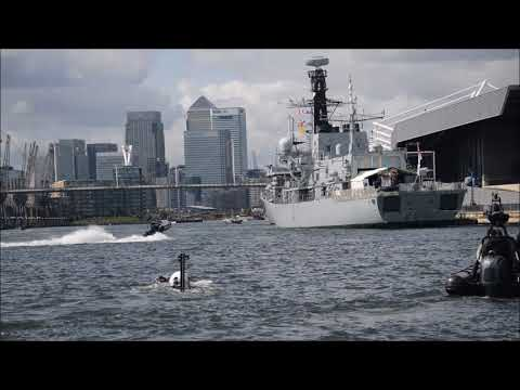 SEAL Carrier demo at DSEi 2017 12-09-17
