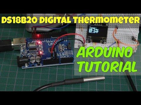 DS18B20 Arduino Temperature Sensor - How To Tutorial