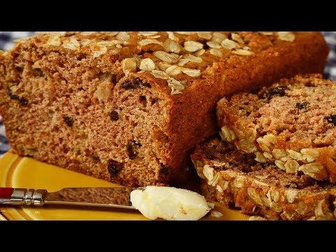 Applesauce Bread Recipe Demonstration - Joyofbaking.com