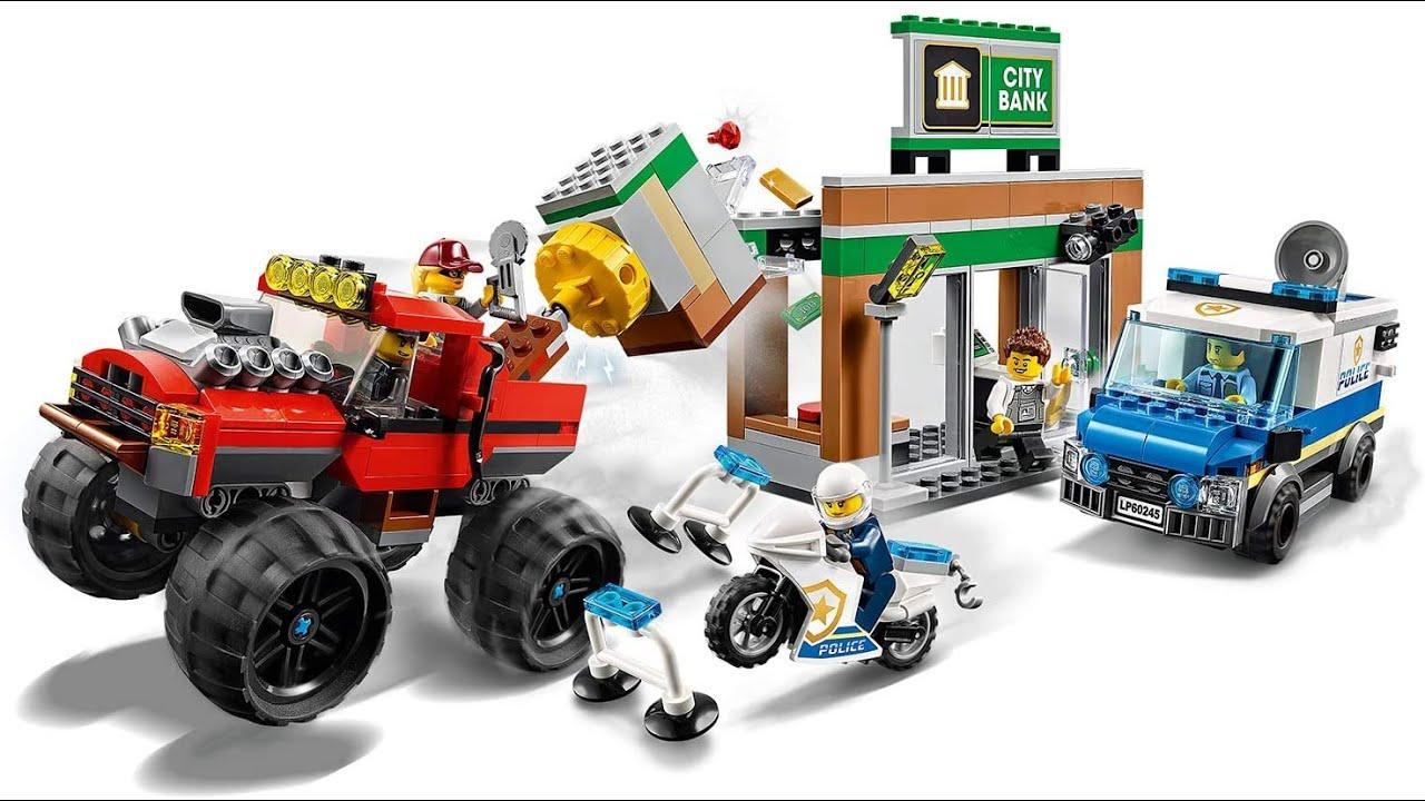 LEGO ® City Police Officer superposée montre avec lego figurine Bracelet