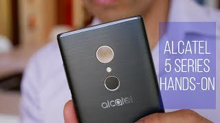 Alcatel 5 Series hands-on