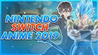 Nintendo Switch Anime Games 2019!
