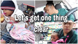 Why Is It Always Some kind Of Drama On YouTube smh... | Food Stamps Mini Shop With Me And 4 Kiddos