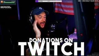 TWITCH DONATIONS! Should you enable them?!