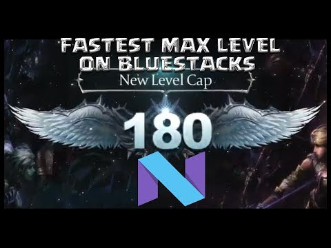 How to level to 180 fast in Lineage 2 Revolutions with Bluestacks Android N