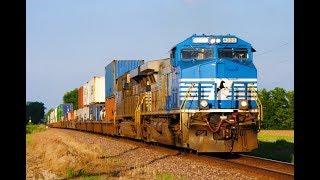 HD: June 2019 Trains w/NS, KCS, UP, Detours, & Heritage Units