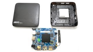 Разбор тв приставки Mecool M8S PRO L. How to disassemble TV Box