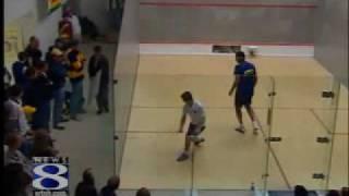 Trinity College Squash: WATCH Controversial Finish To Another National Title