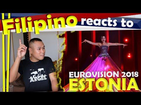 Filipino reacts to Eurovision 2018 Estonia Elina Nachayeva La Forza