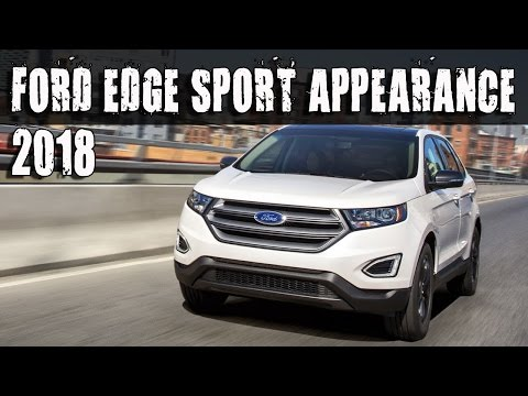 2018 Ford Edge SEL Sport Appearance Pack