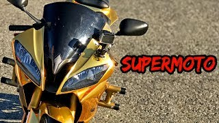 I WANT A SUPERMOTO! | GOLD YAMAHA R6