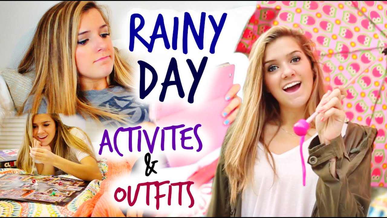 Rainy Day Activities & Fall Outfits Ideas! - YouTube
