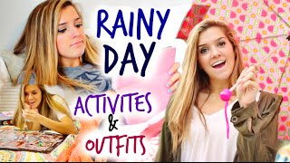 Rainy Day Activities & Fall Outfits Ideas!