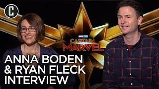 Captain Marvel Directors: Anna Boden & Ryan Fleck Interview