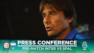 INTER vs SPAL | Antonio Conte Pre-Match Press Conference LIVE 🎙⚫🔵 [SUB ENG]