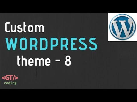 Single Blog Post Page & Comments in WordPress | Custom WP Theme Development