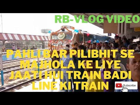 Pilibhit to majhola train