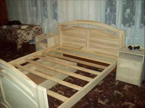 Мебель из дерева от производителя