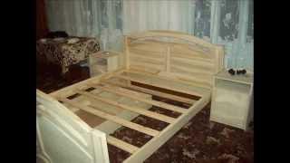 видео мебель из массива дерева на заказ