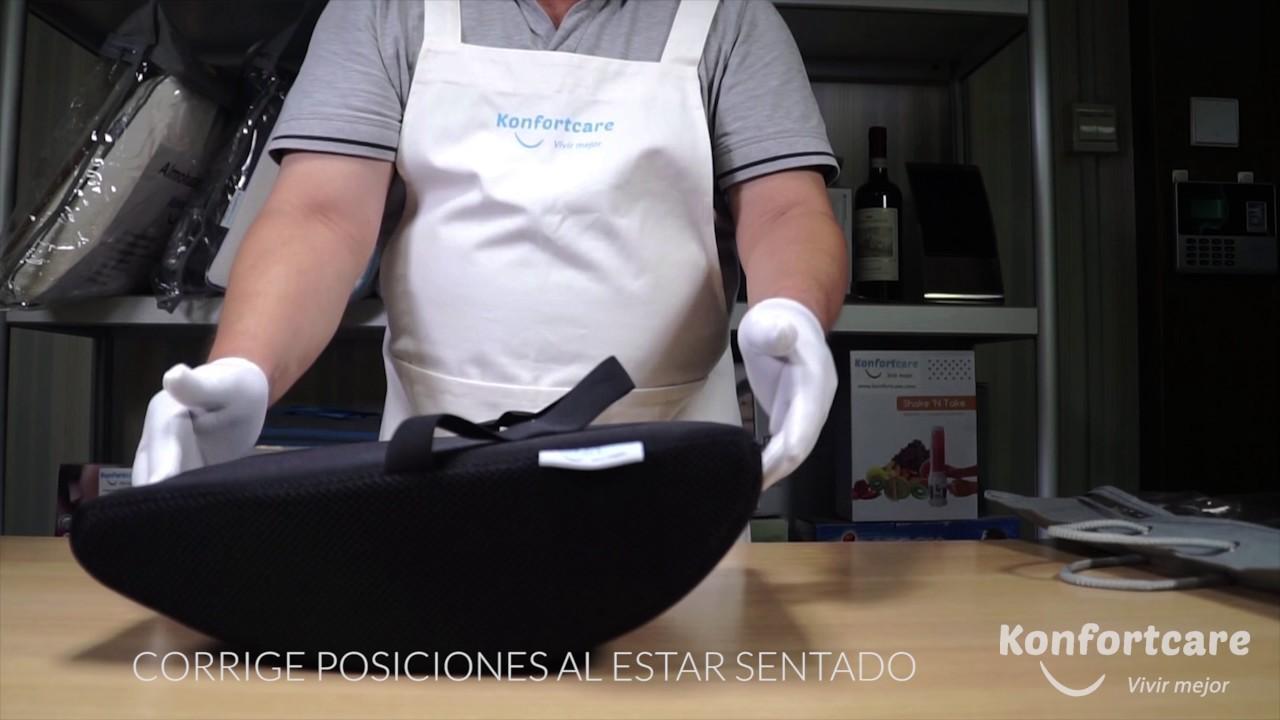 Como Evitar Dolor de Cintura - Cojín Lumbar de Apoyo. Silla - Coche ...