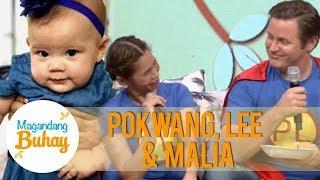 Magandang Buhay: Pokwang and Lee's touching message for baby Malia