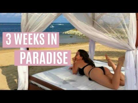 3 WEEKS IN PARADISE | KYLAH ROSE