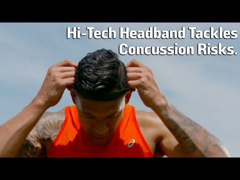 Hi-Tech Headband Tackles Concussion Risks
