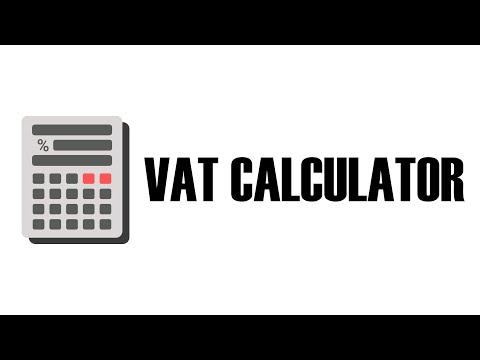 VAT Calculator for PC Windows (10, 8, 8.1 & 7) - Free Download
