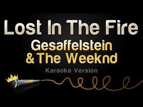 Gesaffelstein & The Weeknd -  Lost In The Fire (Karaoke Version)