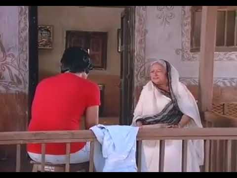 Jay Talking To Mausi - Amitabh Bachchan in Sholay (1975)
