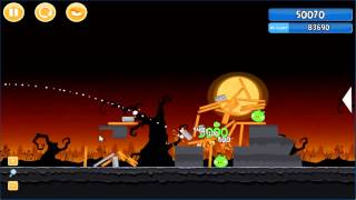 Angry Birds trick or treat 3 Estrellas parte 1-10