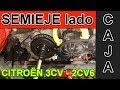 Montaje Semieje Lado Caja Citroën 2CV6 - 3CV - Mecanismo Freno de Mano