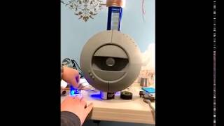 Eyelid Test- Animatronic Wheatley V2.0